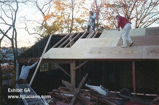 Garage Reconstruction- Before