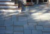 Varagated Blue Stone Patio