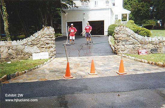 Driveway Stone Work