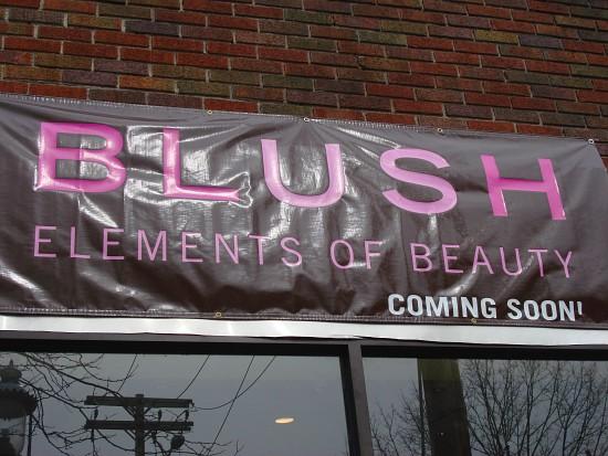 Blush Comsmetics Commercial Storefront