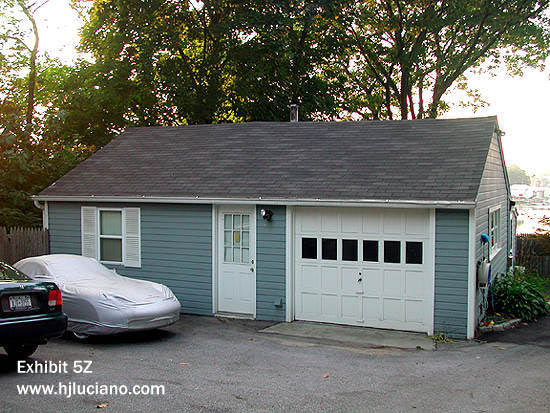 Garage Reconstruction- After