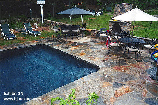 Pool patio hj luciano inc for Pool design by laly llc