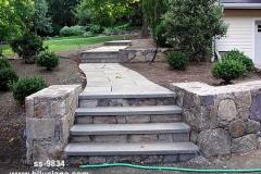 Pillars, Steps & Walkways