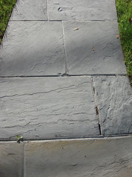 Stone Walkway Before