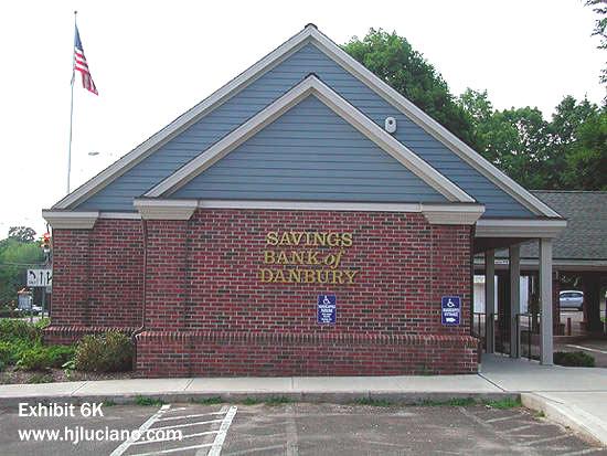 The Savings Bank Of Danbury Hj Luciano Inc